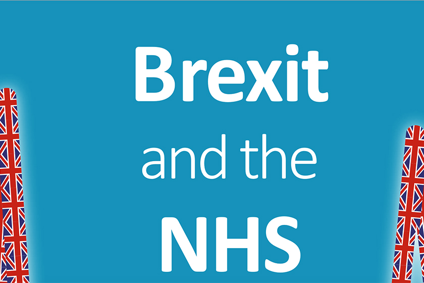 part of cover from Brexit and the NHS report