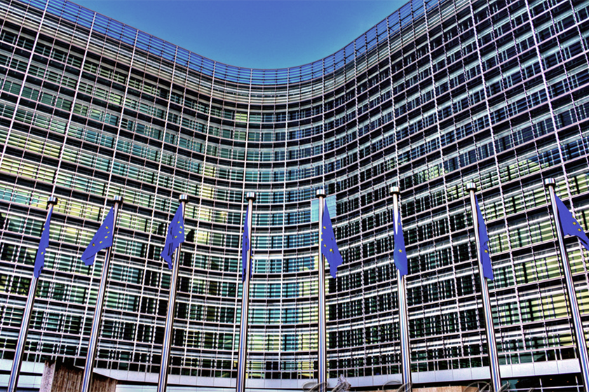 European Union building, Brussels